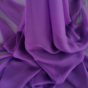 Voal chiffon imperial purple