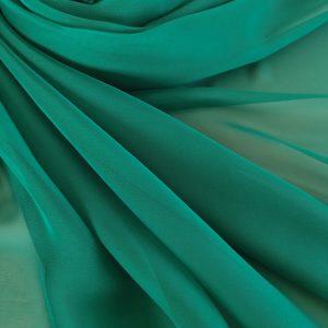 Voal chiffon verde smarald