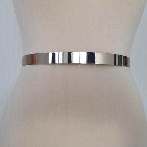 ACS11 - Curea argintie metalica