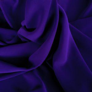 Crep imperial albastru indigo