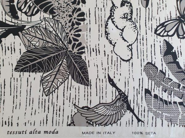 Matase naturala imprimata C.D. 165