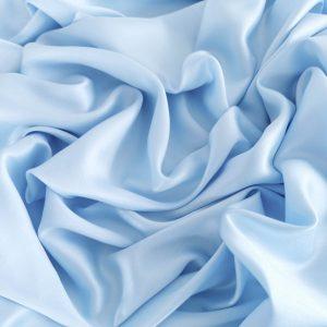 Tesatura blue din matase naturala si bumbac