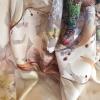 Jacard multicolor oragri cu matase