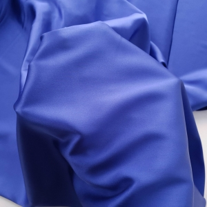 Matase naturala uni royal blue