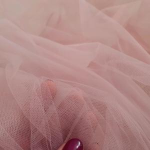 Tul fin roz prafuit