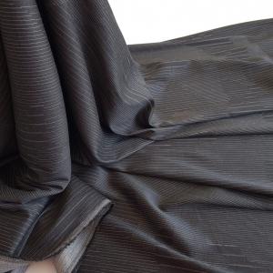 Stofa din lana si bumbac neagra