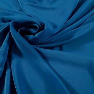 Crepe de Chine albastru