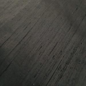 Shantung negru din matase naturala 100%