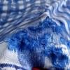 Brocard albastru&argintiuBrocard albastru&argintiu