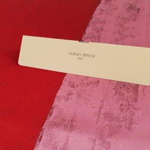 Brocard rosu&roz cu matase ARM376