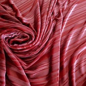 Catifea roz din matase si lame