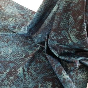 Jacquard Blue Snake R.CAV248
