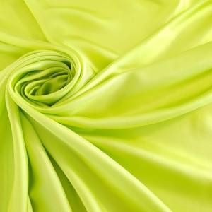 RB247 Twill verde acid din matase naturala