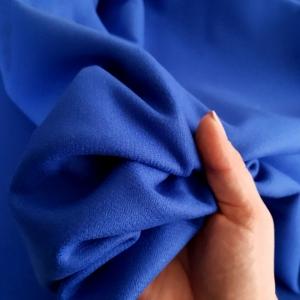 PUC437 Stofa dubla albastru royal cu casmir