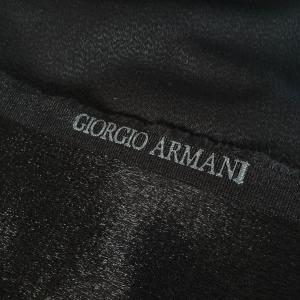 Stofa neagra cu aspect metalizat ARM388