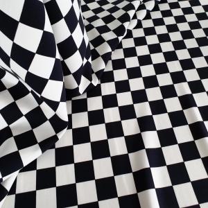Stofita carouri alb&negru VAL368Stofita carouri alb&negru VAL368