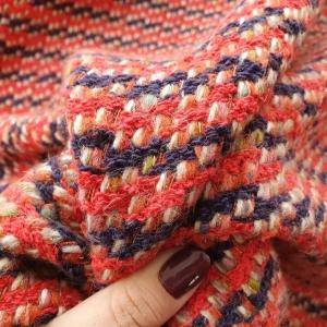 GUC434 Stofa multicolora cu lana si fir metalizat