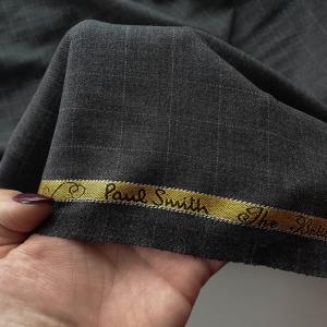 PS439 Stofa gray Paul Smith din lana&matase naturala