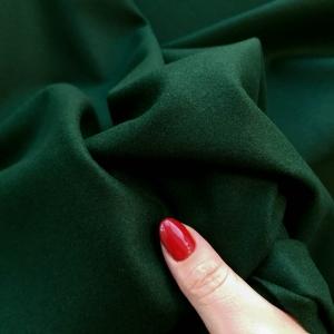 VAL482 Stofa verde padure din lana&casmir