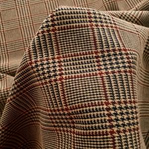 BOSS506 Jersey in carouri cu lana