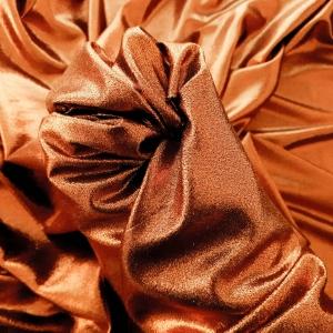 HER538 Cupro metallic silk