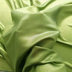 RALPH572 Pistachio Green Metallic Silk