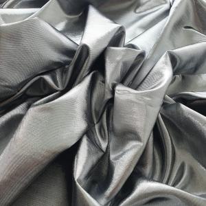 RALPH569 Silver Metallic Silk