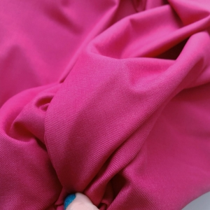 Stofita pink din lana&matase naturala