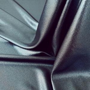 Tesatura metalizata dark blue