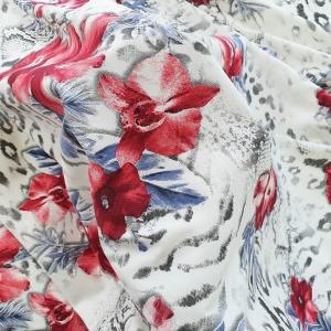 Vascoza imprimata cu flori