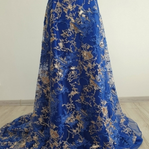 Broderie Royal Blue & Gold