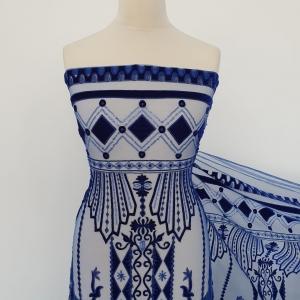Dantela royal blue design Zuhair Murad
