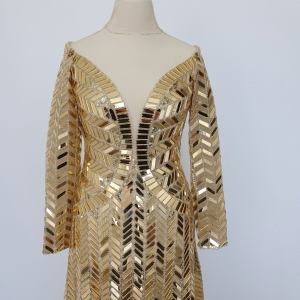 Gold Isis Dress
