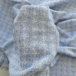GUC598 Stofa blue cu bumbac