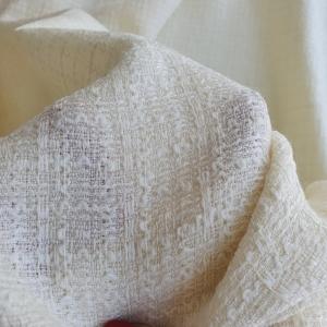 GUC597 Stofa din lana&matase naturala