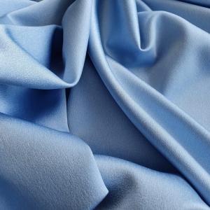 Crep satinat baby blue