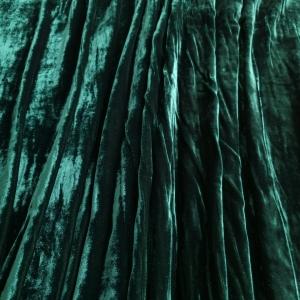 Catifea verde inchis din vascoza