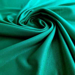 Jacquard verde metalizat