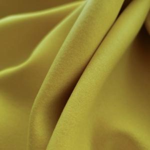 Stofa galbena din lana chimizata