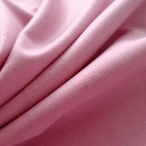Stofa roz-pudra din lana si casmir