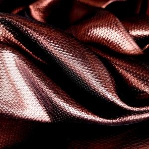 Jacquard bronz metalizat din lana